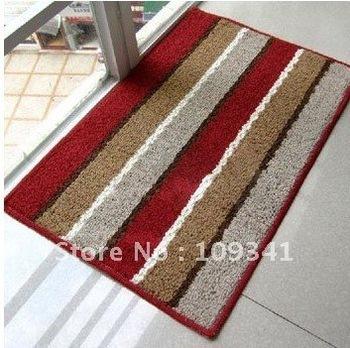 carpet/mat/soft bedroom carpet/Semicircle shape/40cm*63cm/6kinds/Comfortable/non-slip
