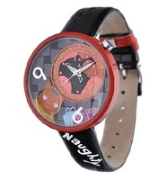 Наручные часы Korea Mini Cartoon Dial Quartz Watch Lovely Hand Painted Pattern Women's Lady's Girl's Chrildren Dropship