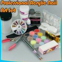 Full Kit Nail Art Acrylic Powder Set UV Tools Kit 131