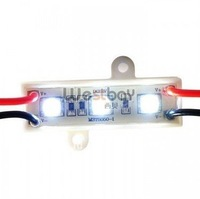 LED Trichips 5050 3 LEDs Module Plastic Cover,TOP quality+above 54lument brightness+Best service+competitive price