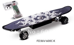 free ship eletirc skateboard 600W CE(China (Mainland))
