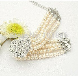 free shipping !wholesale,new sample,dog collar necklace ,pearl , 10pcs/lot/per color/per size,flower ,