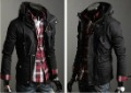 Mens Outerwear Jackets Men Bomber Jacket Zip Up Jacket High Collar Jacket #MS130