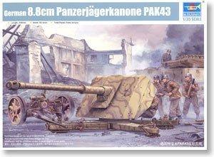 Trumpeter 02308 1/35 German 8.8cm Panzerjagerkanone PAK43