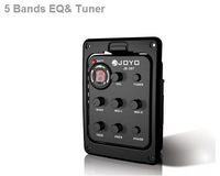 Brand New Guitar 5-Band Preamp EQ Tuner Pickup JOYO JE-307