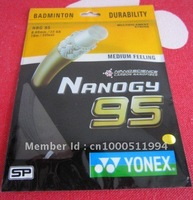 badminton strings string BG95 10m*0.69mm nylon mix colors/Model free shipping 30 pieces/lot  accept credit card