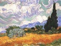 reproduction oil painting Van Gogh,Landscape canvas art Van -003