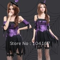 Free shipping! the new Halloween costumes witch costumes, sexy fitted party costumes DS