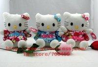 Fruit Series 48PCS Kimono Hello kitty Children's lovely doll soft Toy Plush Toys +Free Sh