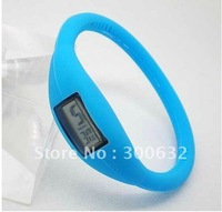 free shipping, Hot selling Anion Silicone Watch, opp bag packing