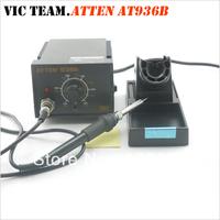 Устройство для сушки струёй горячего воздуха 3092 ATTEN AT858D+ SMD Hot Air Rework Station Hot Blower Heat Gun 3 nozzles