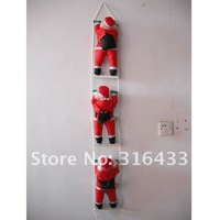 FREE SHIPPING Hot Sale Christmas Ornament Hanging Ladder SANTA Claus Toy ,windows, doors, walls pendant,Christmas decoration 47""
