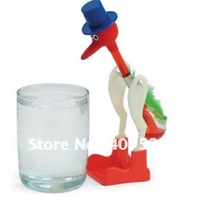 NEW!! Free shipping super toys perpetual motion bird,drinking bird USA ASTM certificate happy bird,children toys