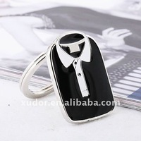 10pcs/lot NEW suit shape key ring for man&#39;s promotional gifts keychain key ring 5422