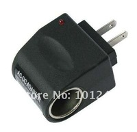 50pcs/lot 2011  For AC to 12V DC Car Power Charger Adapter Plug 110V free shipping dhl