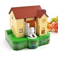 Lovely house piggy bank / Lucky Dog piggy bank