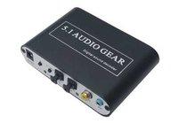 Free shipping-AC3 DTS 5.1 Audio Gear Digital Sound Decoder SPDIF PS3 HD Audio Rush