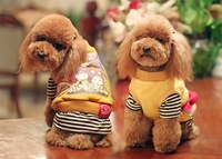 10pcs/lots 2011 new style,TOUCH&DOG brand new high quality pet dress, New York colorful  winter clothes pet dog clothes