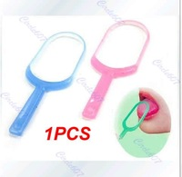 Plastic Hygiene Mouth Care New Oral Tongue Cleaner Scraper