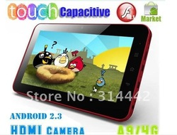 7 inch 5 point Capacitive Multi-Touch Screen Android 4.0 Tablet PC Zenithink ZT-280 C71+Cortex A9 1GHz+8GB+1GB+Flash 10.3+HDMI(China (Mainland))