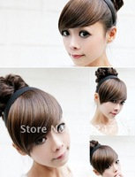 Hair Fashion Lady lovely hair fringes headbands,Wig fringes,wig bangs