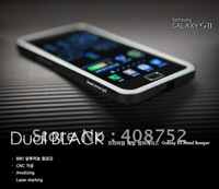 Christmas product new arrival metal bumper case for samsung i9100/galaxy s2