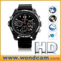 Newest 720P Night Vision Waterproof HD Camera Video Watch 4GB(8GB/16GB)