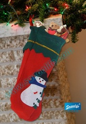 Free Shipping!!! 2011 Hot Sale christmas product Christmas Stocking,Christmas sock(China (Mainland))