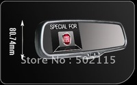 HOT SALE!!!!! high quality 3.5inch rearview mirror monitor with 2way video input for FIAT,,Very sharp Image!!