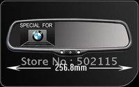 HOT SALE!!!!! high quality 3.5inch rearview mirror monitor with 2way video input for BMW,,Very sharp Image!!