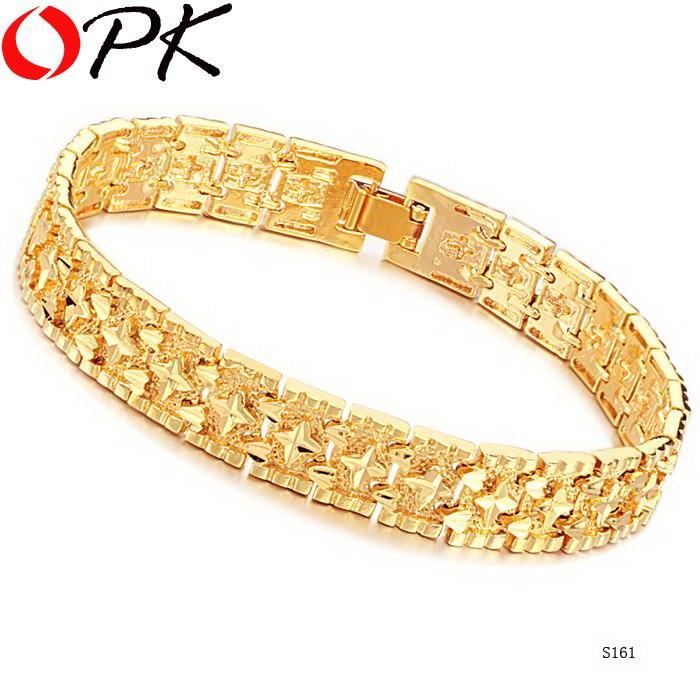 браслет мужской каучук золото