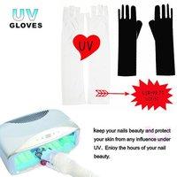 Free Shipping Nail Art UV Gloves nail tools produce nail tool plastic color nail art supplies