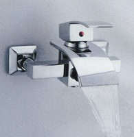 free shiping single handle waterfall shower mixer  AEhome6041