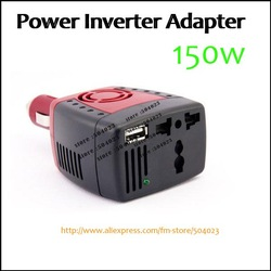 120W CAR POWER INVERTER ADAPTER 12V DC to 110V AC LAPTOP(0436)(China (Mainland))