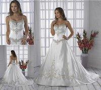 WH075 dropshipping New style sexy wholesale sleeveless wedding dress