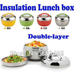 Freeshipping 1pcs/lot Apple shape Stainless Steel Lunch Box Bento 2 Tier Locking Lid Lunch Container insulated lunch box 1000ml(China (Mainland))