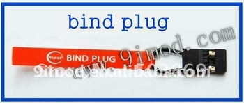 On sale!!!!!!!!!Bind Plug line for 2.4G Radio Systems transmitter receiver free shipping&wholesale
