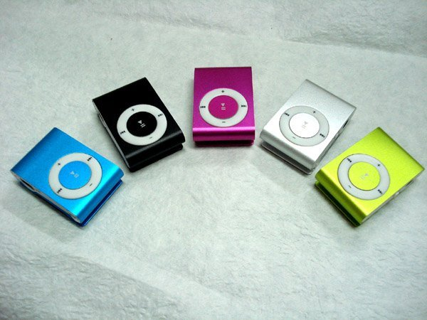 MINI Clip MP3 Player Support Micro SD/TF Card Free shipping #DQ0036