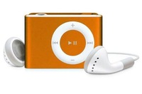 Digital Metal Mini Clip Mp3 Player with TF Card Slot Support 1GB 2GB 4GB Card