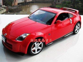 Promotion 4CH battery power rc car toy, r/c car, r/c toy, remote control kid' toy, 1/14 Nissan 350Z rc model car