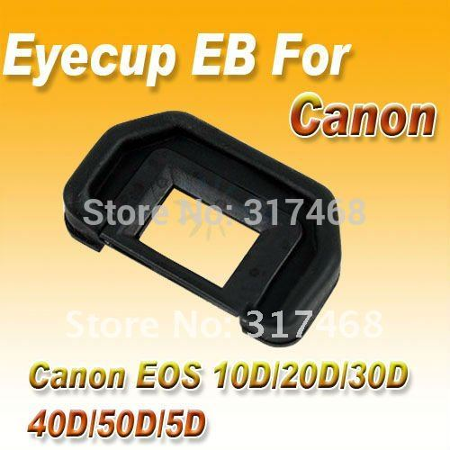 5 X EyePiece Eye cup EB For Canon EOS 20D/30D /40D /50D/5D(China (Mainland))