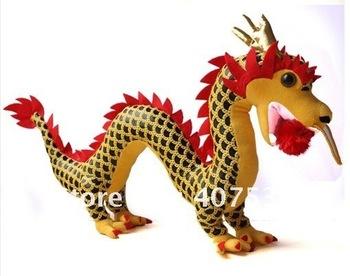 Free shipping gift Chinese dragon doll plush toy