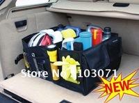 Car Boot Tidy Storage Bag Box Organizer Car Back Seat Pocket Multi-use Tools A