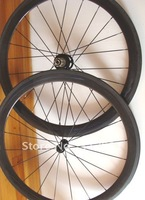bicycle  wheelset carbon fibre 700c 61mm Tubular 1 pair/lot