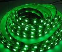 Green 5m 300x3528 SMD Lights Waterproof Led Strip lighting Flex light Free Shipping