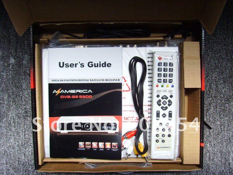 Az america S900HD TV receiver(Nagra3),free shipping !(China (Mainland))