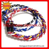 New Fashion neck X50 sizes 50cm Titanium Health Silicone necklace Rakuwa power Sports necklace free shipping