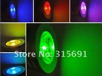Free Shipping Wholesale 3W Remote Control RGB Changeable MR16 LED Light Colorful Spotlight Decorative Lamp Bulb Aluminum DC12V