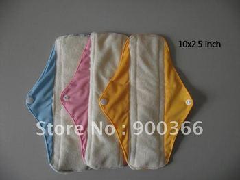 Mama's Cloth/Menstrual Pads/Liner,Sanitary Napkin,Sanitary Pads Bamboo 30pcs/lot  Free Shipping