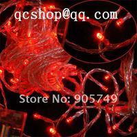 free shipping 110V 220V led christmas light led string light festival holiday wedding thanksgiving decoration Hallowmas